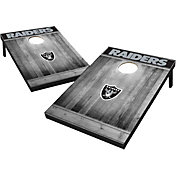 Wild Sports Las Vegas Raiders Grey Wood Tailgate Toss