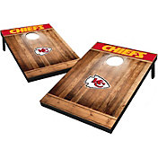 Wild Sports Kansas City Chiefs Brown Wood Tailgate Toss