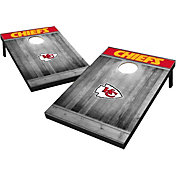 Kansas City Chiefs Grey Wood Tailgate Toss