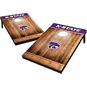 Wild Sports Kansas State Wildcats NCAA Brown Wood Tailgate Toss