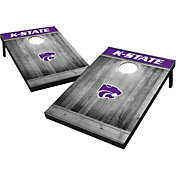 Wild Sports Kansas State Wildcats NCAA Grey Wood Tailgate Toss