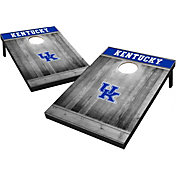 Wild Sports Kentucky Wildcats NCAA Grey Wood Tailgate Toss