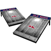 Wild Sports Ole Miss Rebels NCAA Grey Wood Tailgate Toss