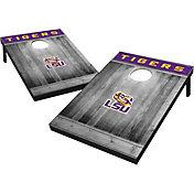 Wild Sports LSU Tigers NCAA Grey Wood Tailgate Toss