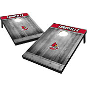 Wild Sports Louisville Cardinals NCAA Grey Wood Tailgate Toss