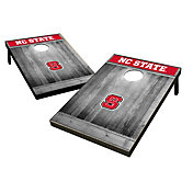 Wild Sports North Carolina State Wolfpack NCAA Grey Wood Tailgate Toss