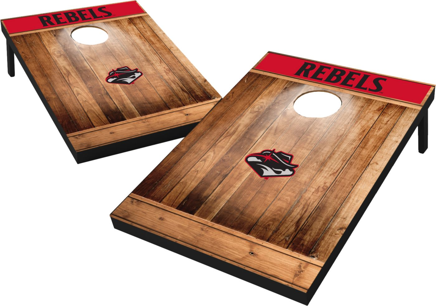 Wild Sports UNLV Rebels NCAA Brown Wood Tailgate Toss