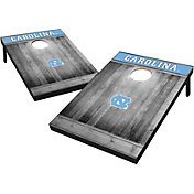 Wild Sports North Carolina Tar Heels NCAA Grey Wood Tailgate Toss