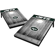 New York Jets Grey Wood Tailgate Toss