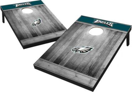 Philadelphia Eagles Grey Wood Tailgate Toss