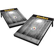 Pittsburgh Steelers Grey Wood Tailgate Toss