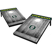 Wild Sports Oregon Ducks NCAA Grey Wood Tailgate Toss