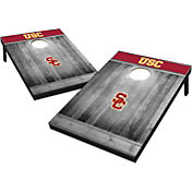 Wild Sports USC Trojans NCAA Grey Wood Tailgate Toss