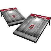 Wild Sports Stanford Cardinal NCAA Grey Wood Tailgate Toss