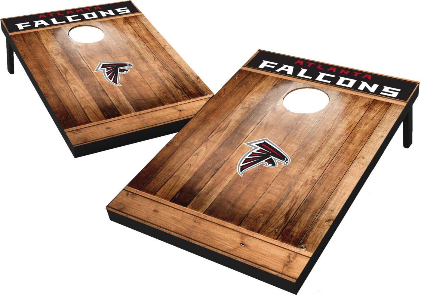 Wild Sports Atlanta Falcons Brown Wood Tailgate Toss