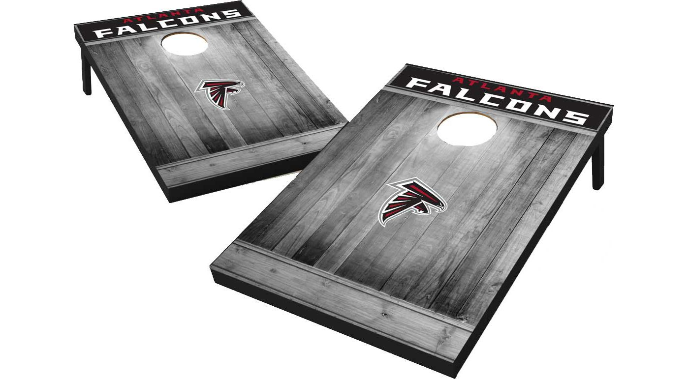Wild Sports Atlanta Falcons Grey Wood Tailgate Toss
