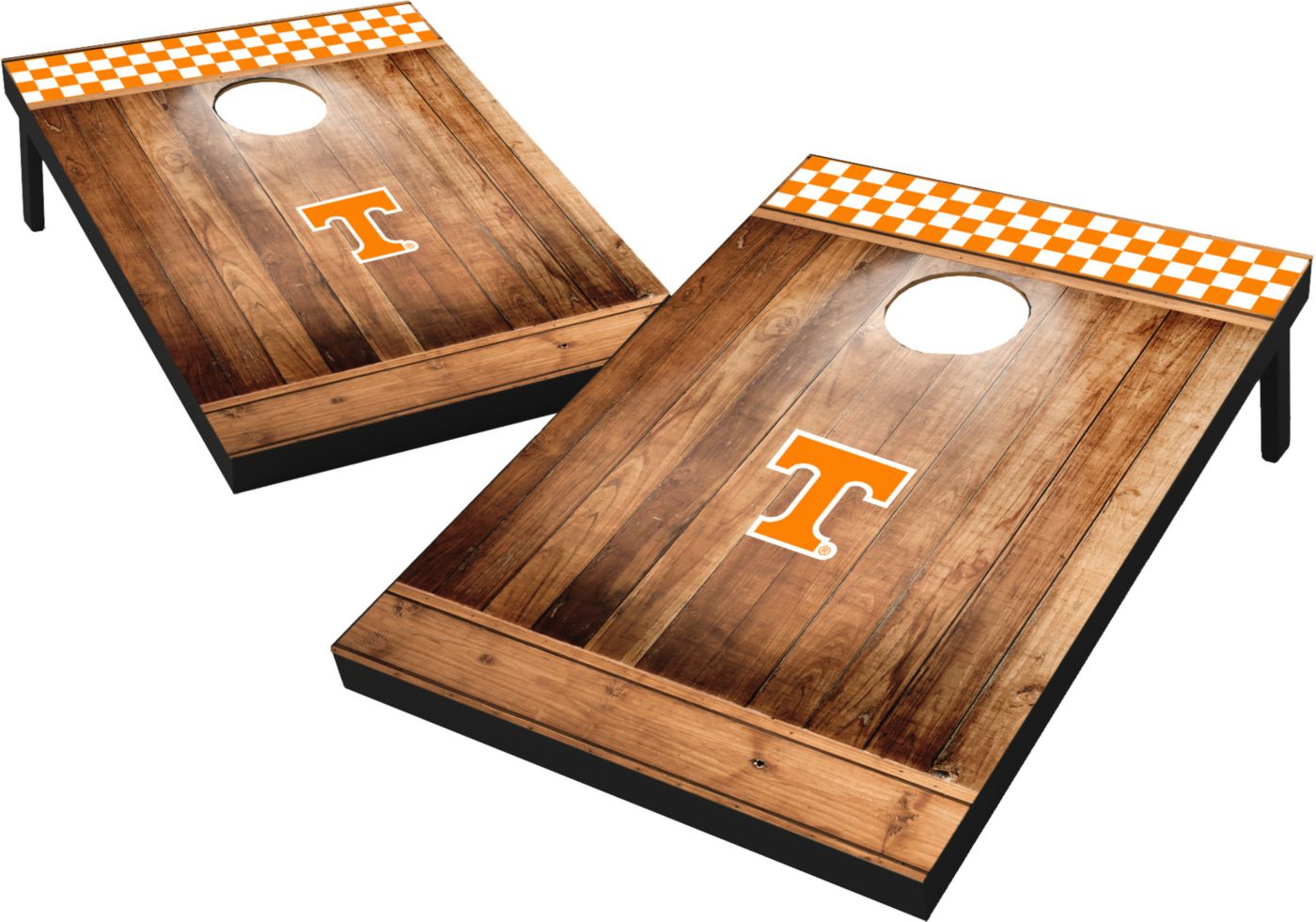 Wild Sports Tennessee Volunteers NCAA Brown Wood Tailgate Toss