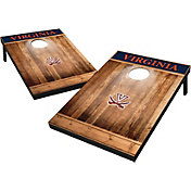 Wild Sports Virginia Cavaliers NCAA Brown Wood Tailgate Toss