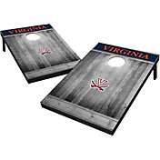 Wild Sports Virginia Cavaliers NCAA Grey Wood Tailgate Toss