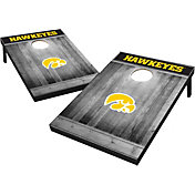 Wild Sports Iowa Hawkeyes NCAA Grey Wood Tailgate Toss