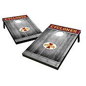 Wild Sports Iowa State Cyclones NCAA Grey Wood Tailgate Toss