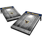 Wild Sports West Virginia Mountaineers NCAA Grey Wood Tailgate Toss
