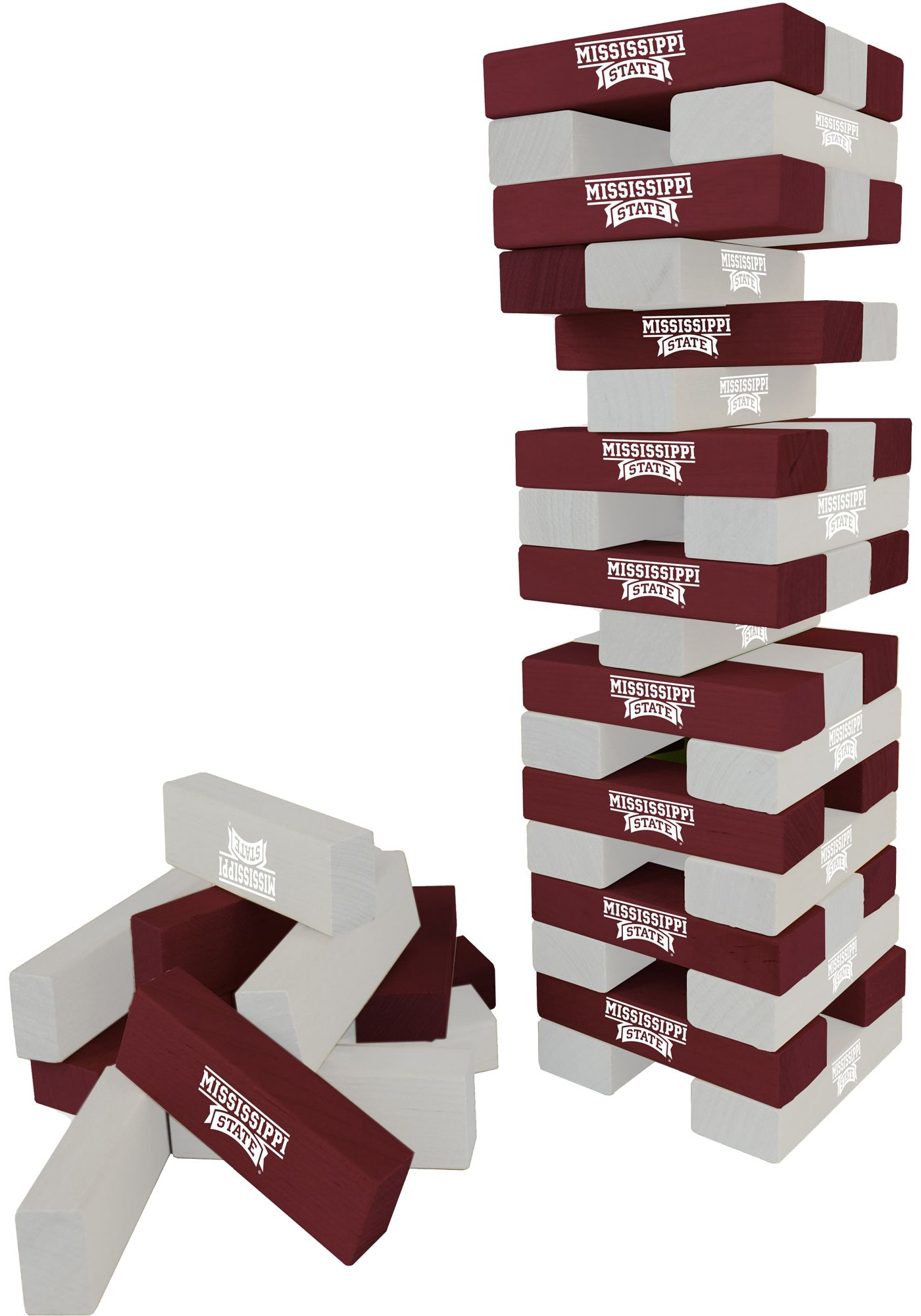 Wild Sports Mississippi State Bulldogs Table Top Stackers
