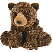 Wild Republic Cuddlekin Brown Bear Stuffed Animal