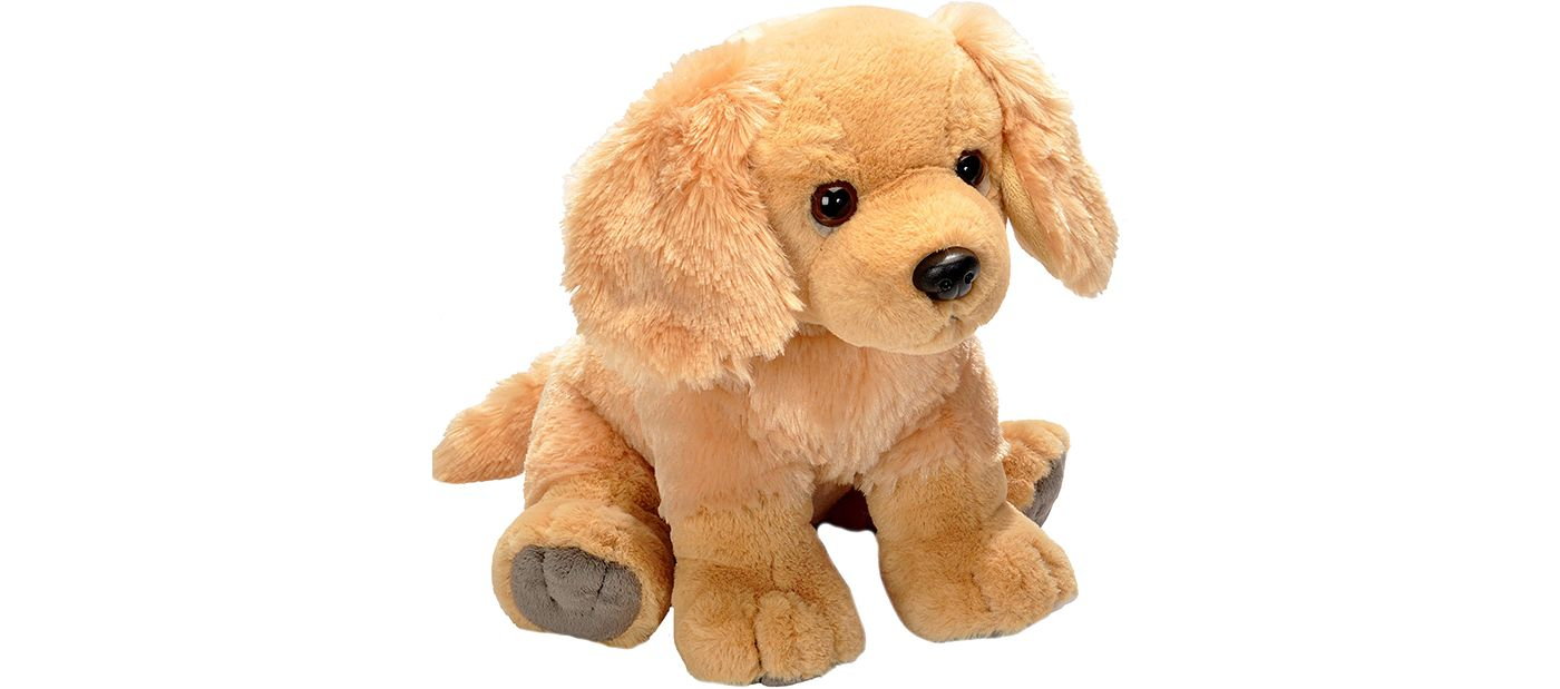 Wild Republic Golden Retriever Stuffed Animal