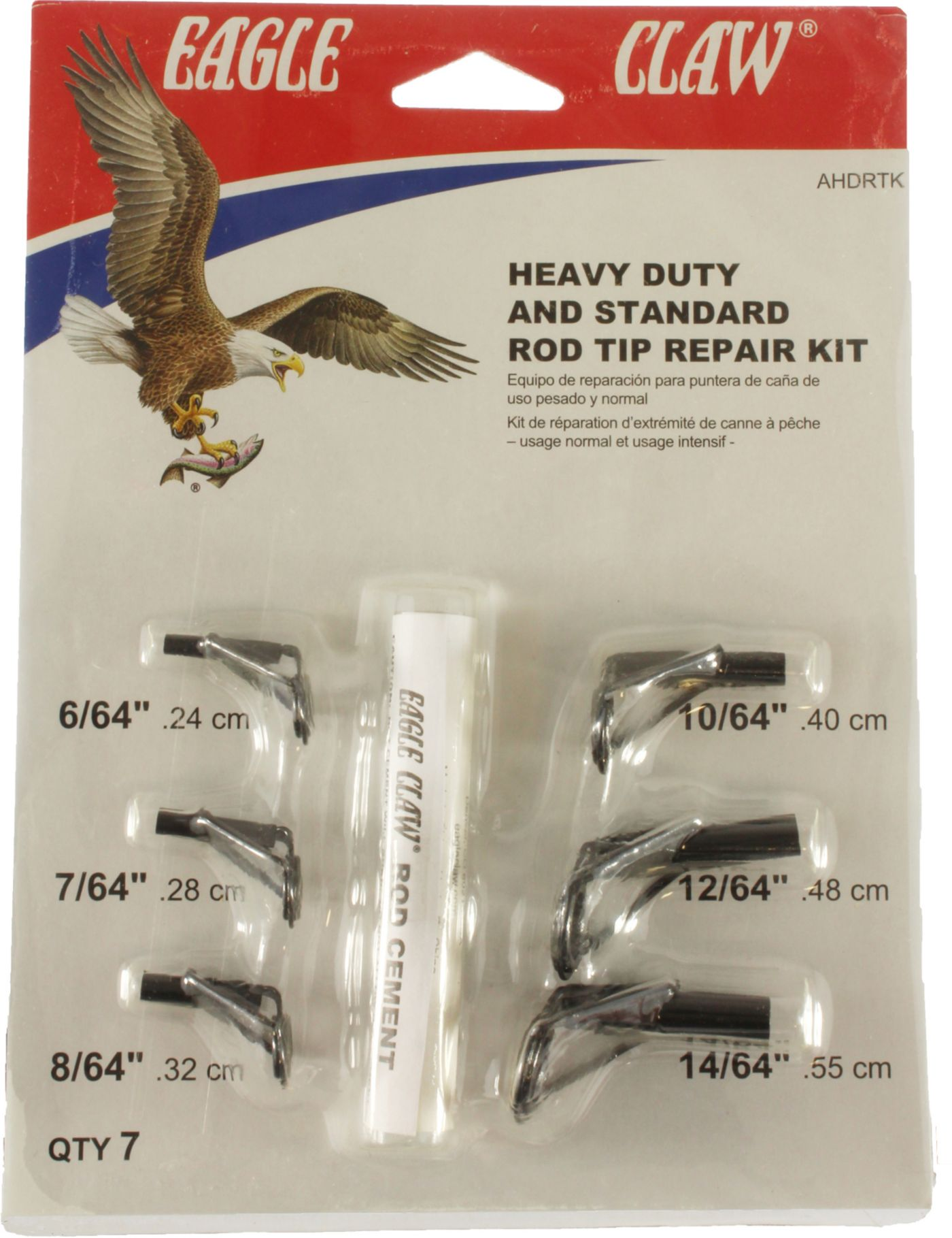 Eagle Claw Heavy Duty and Standard Rod Tip Repair Kit