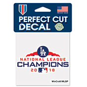 WinCraft 2018 NL Champions Los Angeles Dodgers 4' x 4' Decal