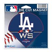 WinCraft 2018 World Series Los Angeles Dodgers Die-Cut Magnet