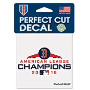 WinCraft 2018 AL Champions Boston Red Sox 4' x 4' Decal