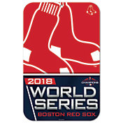 """WinCraft 2018 World Series Boston Red Sox 11"""" x 17"""" Sign"""