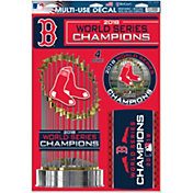 WinCraft 2018 World Series Champions Boston Red Sox 11' x 17' Decal Sheet