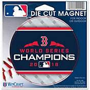 WinCraft 2018 World Series Champions Boston Red Sox Die-Cut Magnet