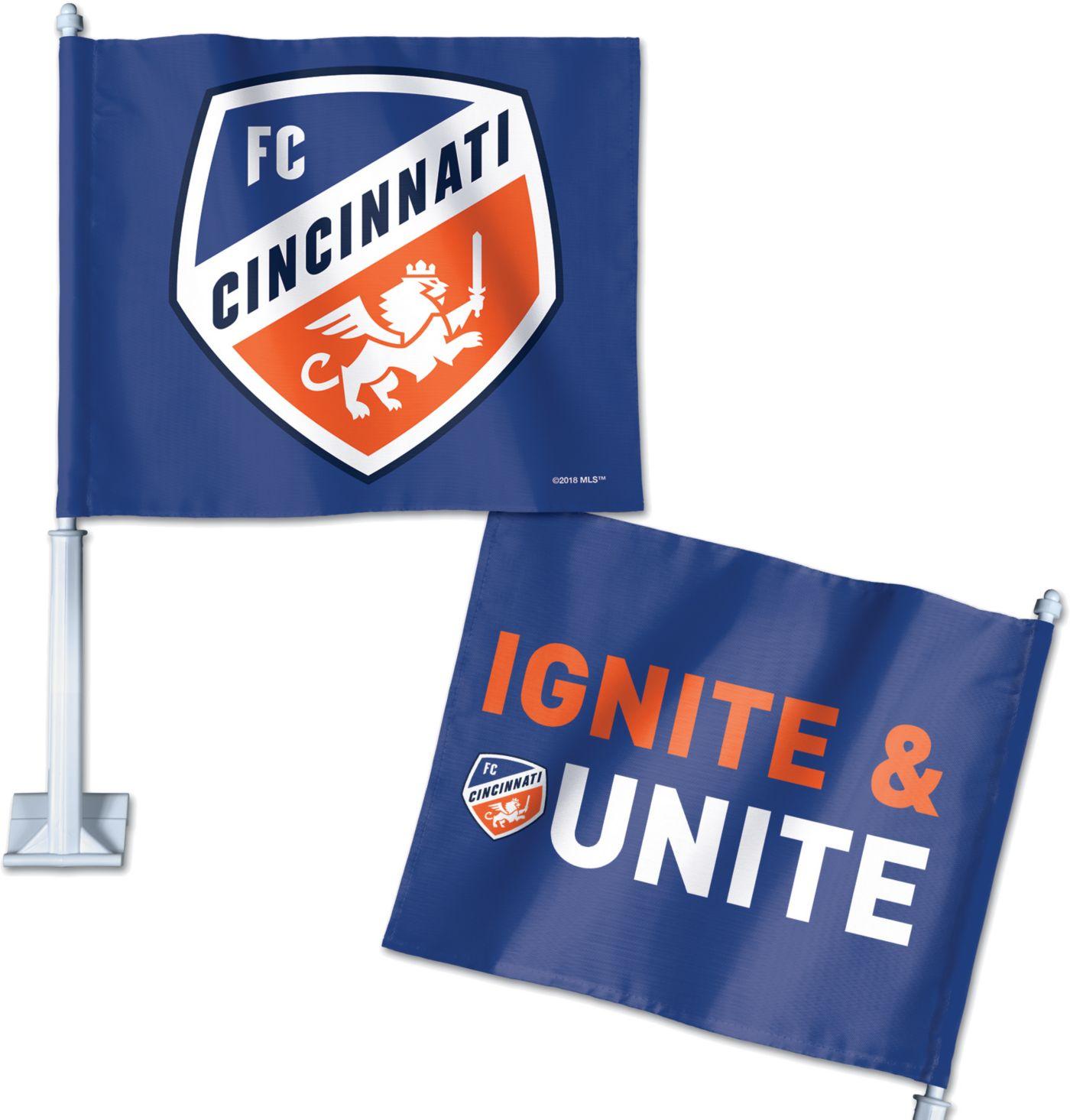 WinCraft FC Cincinnati Car Flag