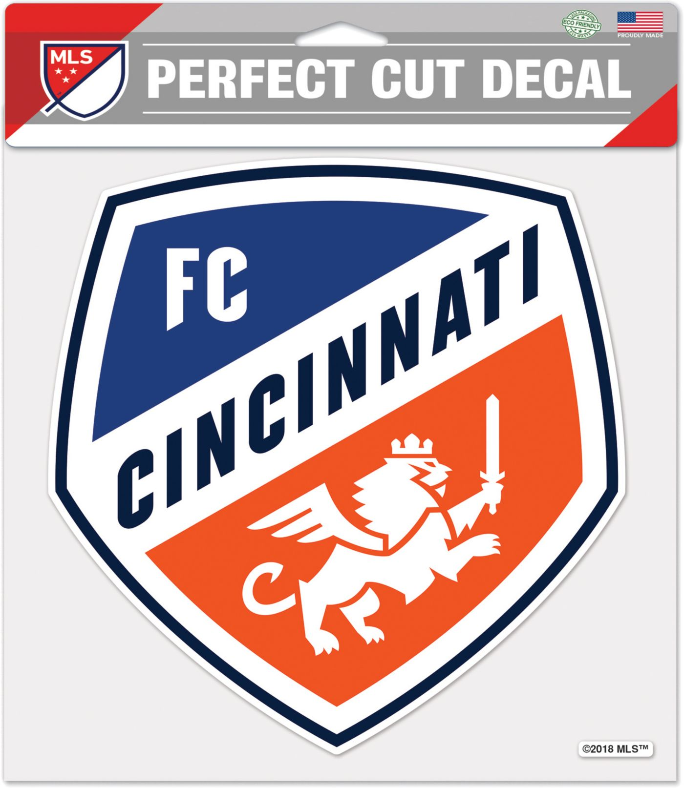 "WinCraft FC Cincinnati 8"" x 8"" Decal"