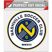 "WinCraft Nashville Soccer Club 8"" x 8"" Decal"