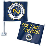WinCraft Nashville Soccer Club Car Flag