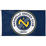 WinCraft Nashville Soccer Club Deluxe Flag