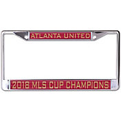 WinCraft 2018 MLS Cup Champions Atlanta United License Plate Frame
