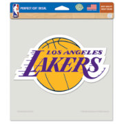 WinCraft Los Angeles Lakers Perfect Cut Decal