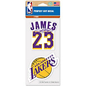 WinCraft Los Angeles Lakers LeBron James Perfect Cut Decal 2-Pack