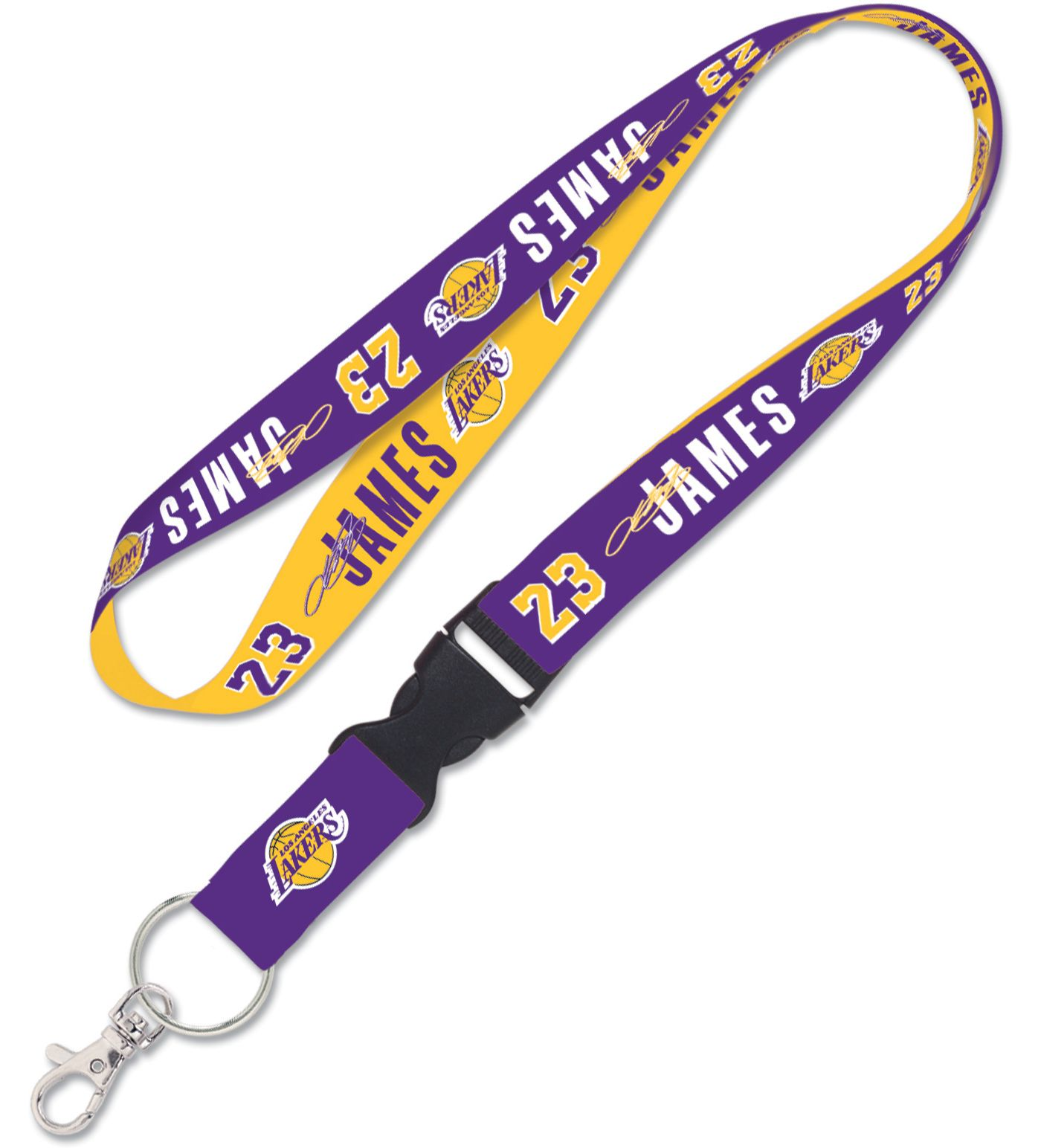 WinCraft Los Angeles Lakers LeBron James Lanyard