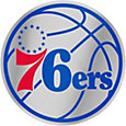 WinCraft Philadelphia 76ers Auto Badge Decal