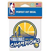WinCraft 2018 NBA Champions Golden State Warriors Decal