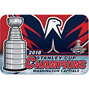 "WinCraft 2018 Stanley Cup Champions Washington Capitals 20"" x 30"" Welcome Mat"