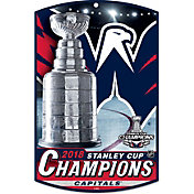 "WinCraft 2018 Stanley Cup Champions Washington Capitals 11"" x 17"" Sign"