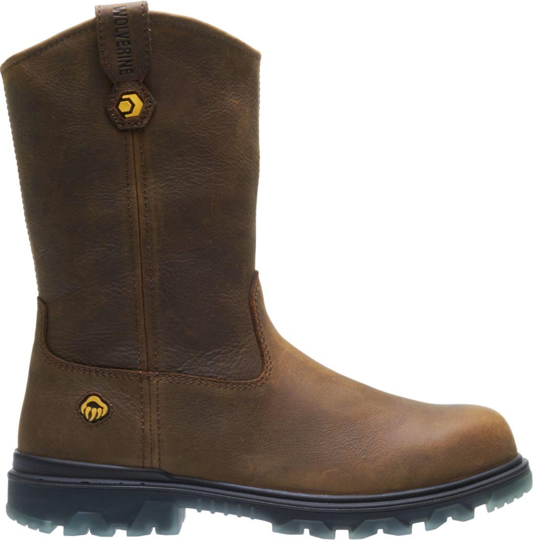 d29fe6e88de Wolverine Men's I-90 EPX CarbonMAX Wellington Waterproof Composite Toe Work  Boots